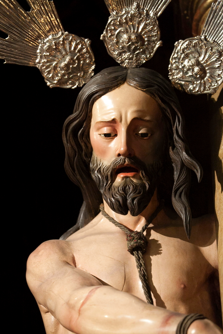 Ntro. Padre Jesús Atado a la Columna. Obra anónima siglo XVIII